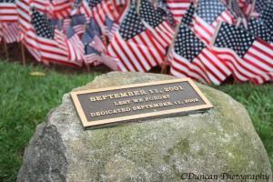 9/11 Ceremony UNH Maxcy Quad, 2014
